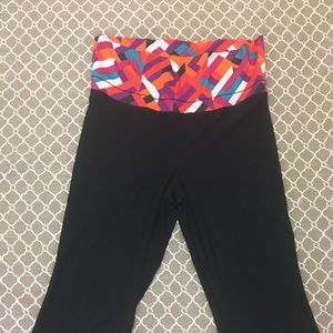 Size large xersion capris